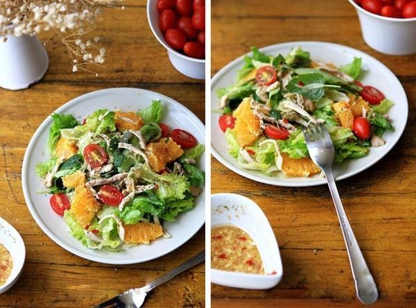 Salad gà cực ngon