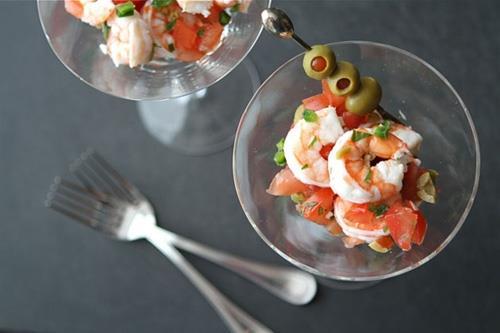 Salad tôm - món khai vị hoàn hảo