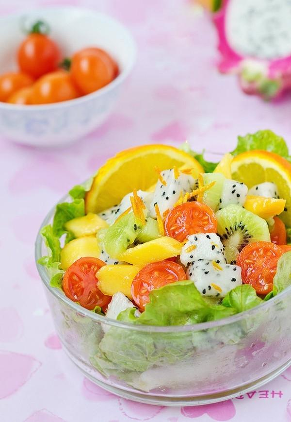 Salad trái cây ngon mát