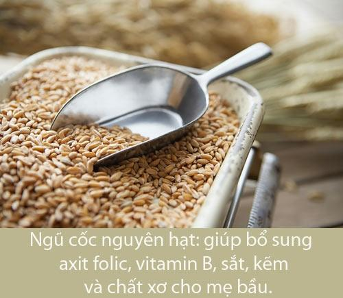 Siêu thực phẩm cho thai nhi đủ chất