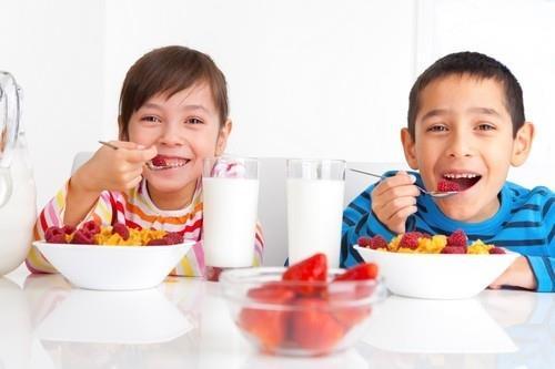 Sự phát triển của trẻ phụ thuộc nhiều vào dinh dưỡng