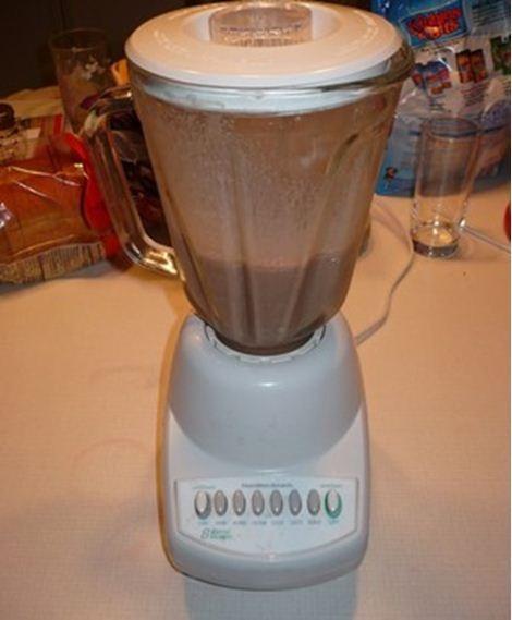 Sữa lắc chocolate siêu hấp dẫn