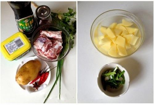 Sườn om khoai tây