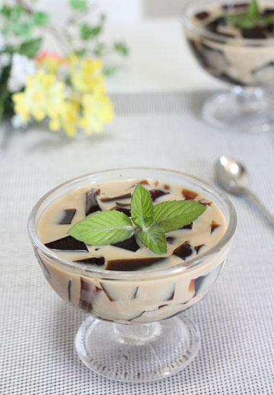 Thạch cà phê sảng khoái xua tan oi bức