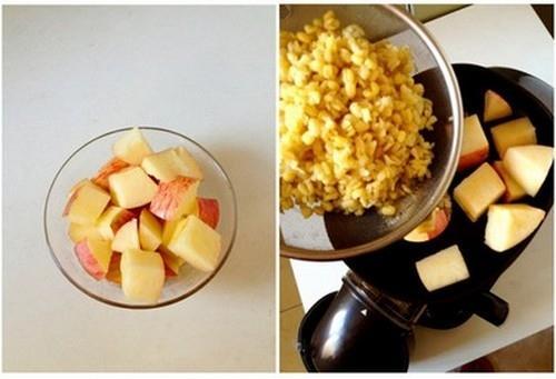 Thải độc giải nhiệt sau Tết với nước ép táo