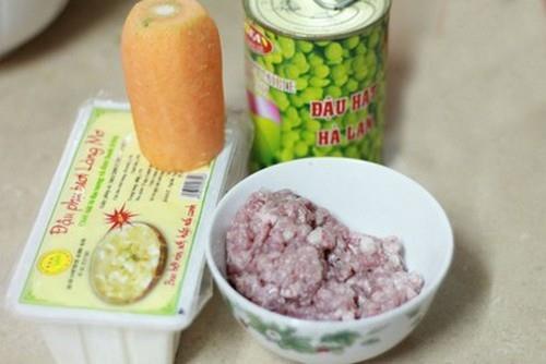 Thanh ngon món đậu xốt rau củ