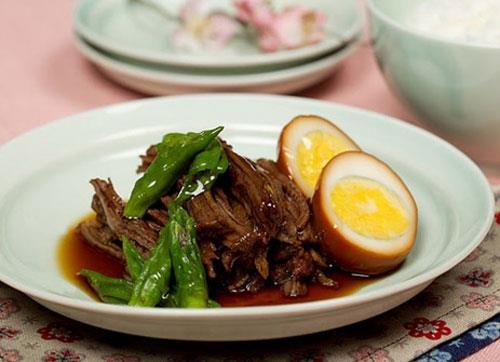 Thịt kho kiểu Hàn