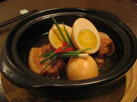 Thịt kho trứng vịt cho ngày Tết