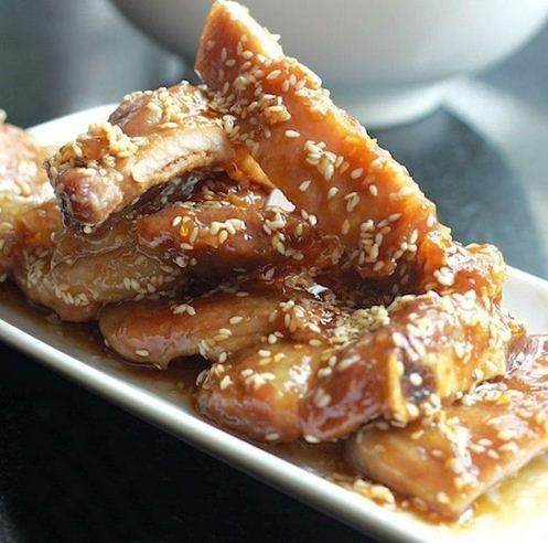 Thịt ram mật ong