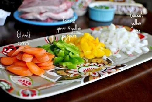 Thịt xào rau củ ngon miệng đẹp mắt