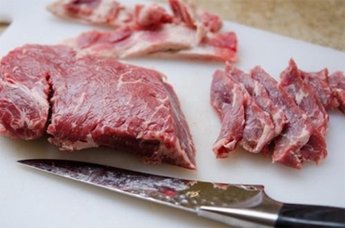 Thơm ngất ngây thịt bò xào gừng