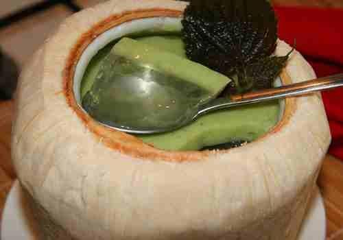 Thơm ngon rau câu dừa dứa
