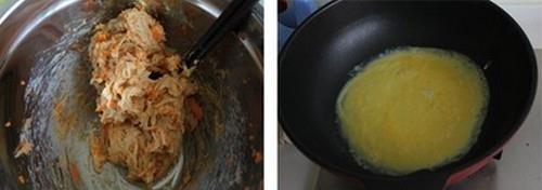 Trứng cuộn tôm thịt ngon mắt cho bữa tối