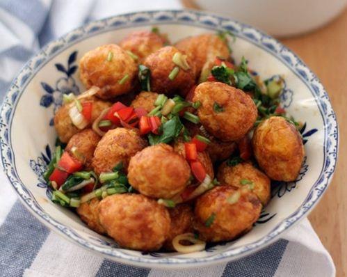 Trứng cút trộn chua ngọt