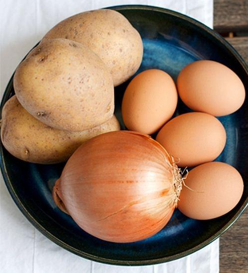 Trứng rán kiểu Tây Ban Nha