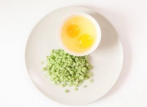 Trứng tráng đậu cove
