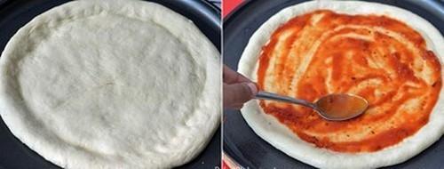 Tự làm pizza rau củ thơm ngon ít béo