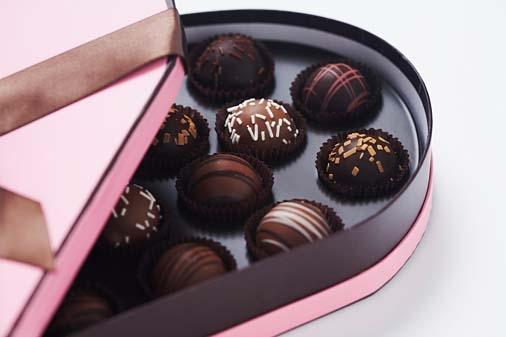 Valentine chọn sô-cô-la đen là tốt nhất